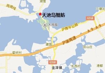 上海旅游手绘地图小报
