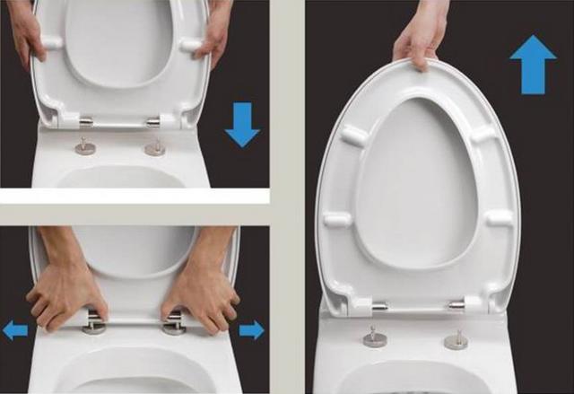马桶盖子安装步骤图解