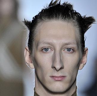 三七分发型男-男模 脸型立体