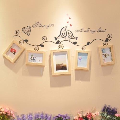看看我们的重庆美女如何装饰自己家的照片墙