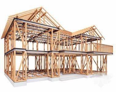 木结构较轻,在地震中的抗震性能要优于未设防的砖混