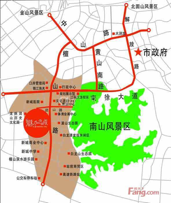 从客源市场定位谈镇江南山风景区旅游资源的开发